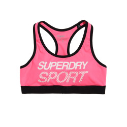 Brassière Superdry Sport Essential Graphic Pink
