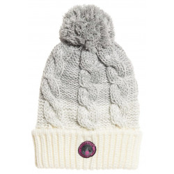 Bonnet Superdry Clarrie Cable Beanie Light Grey