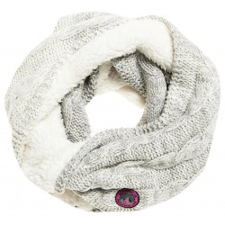 Snood Superdry Clarrie Cable Light Grey Ombre