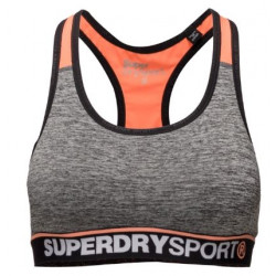 Brassière Superdry Sport Essentials Bra Charcoal
