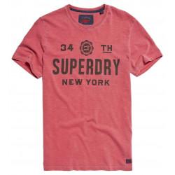 T-shirt Superdry The Industry Optic Slub Reverse