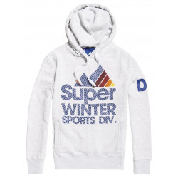 Sweat à Capuche Superdry Winter Sports Ice Marl