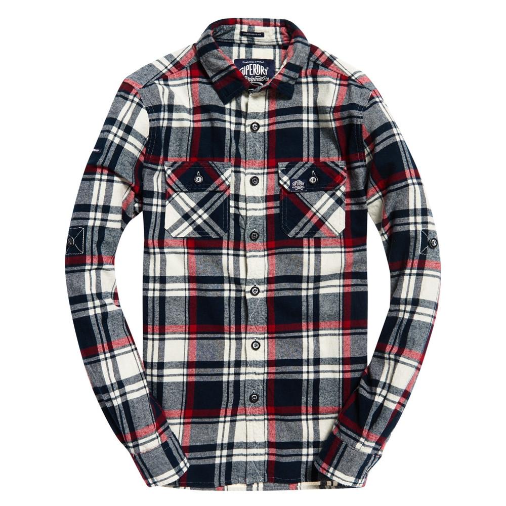 Chemise Superdry Lumberjack Hudson Black Check
