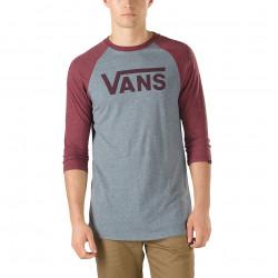 T-shirt Vans Raglan Classic Heather Grey