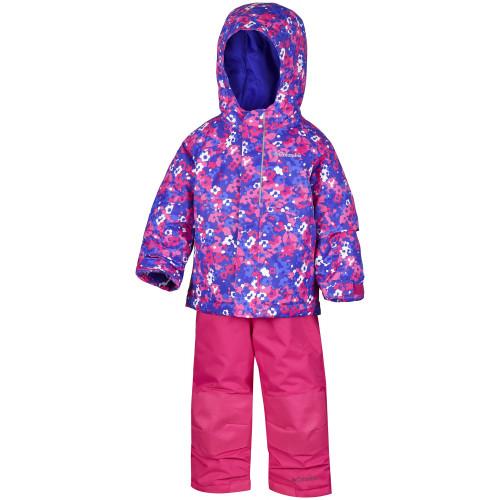 ensemble ski enfant columbia buga set punch pink floral. Black Bedroom Furniture Sets. Home Design Ideas