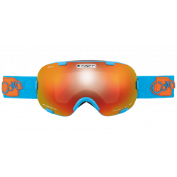 Masque De Ski Cairn Spirit Spx3000I Bleu / Orange