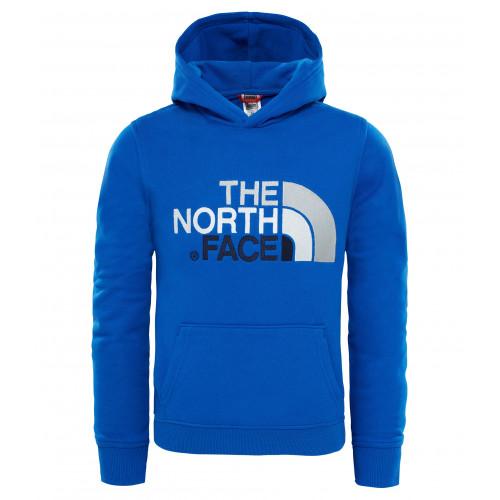 6efe797bd7 Sweat Capuche Enfant The North Face Drew Peak Cobalt Blue ...