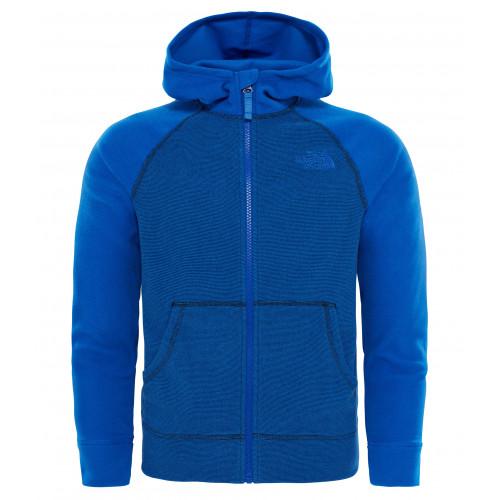 Face Precision North Ski Full Veste Glacier Polaire Blue Zip The T1xttO