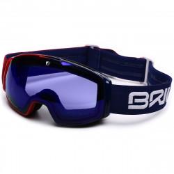 Masque De Ski Briko Nyira Free Fighter Red Blue