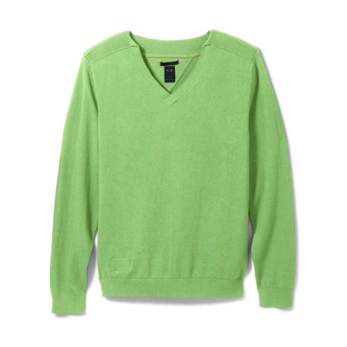 Pull Homme Oakley Icon V Neck Sweater Green