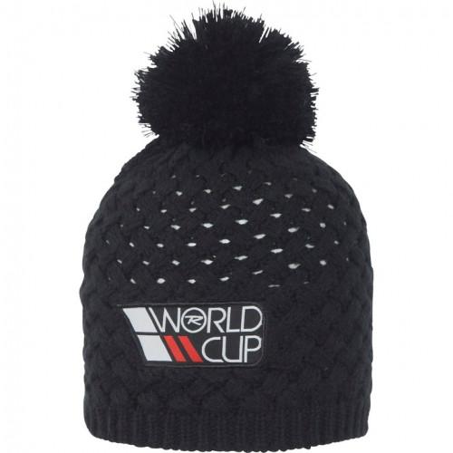 Bonnet Rossignol World Cup Pompom Black