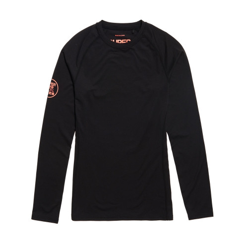 t shirt technique superdry carbon baselayer black precision ski. Black Bedroom Furniture Sets. Home Design Ideas