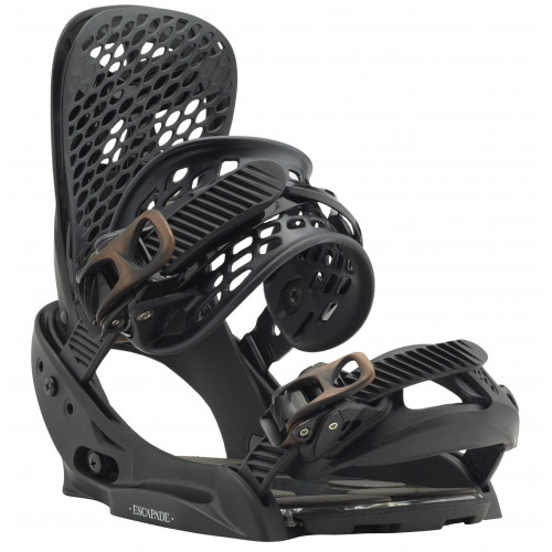 fixation de snowboard burton escapade est black n 39 bronze. Black Bedroom Furniture Sets. Home Design Ideas