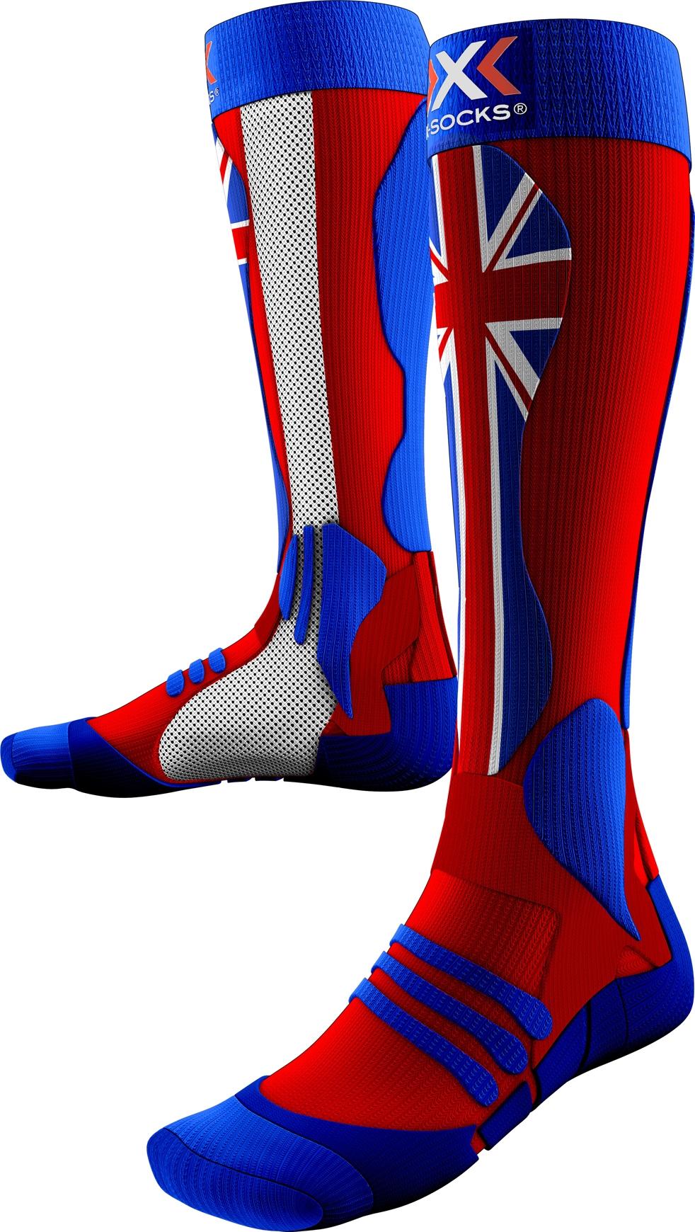 Usa De Patriot socks SKI Chaussettes PRECISION X Ski KcFJl1