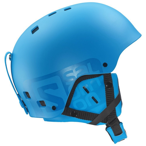 casque de ski salomon brigade blue matt precision ski. Black Bedroom Furniture Sets. Home Design Ideas
