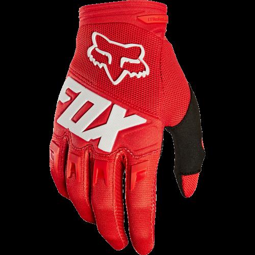 gants de vtt fox dirtpaw race glove rouge precision ski. Black Bedroom Furniture Sets. Home Design Ideas