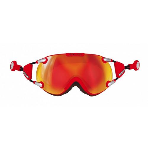 af5d3695995e68 Masque De Ski Casco Fx70 Carbonic Red   Orange - PRECISION SKI
