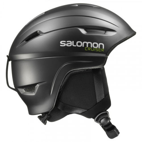 casque de ski salomon cruiser 4d2 black precision ski. Black Bedroom Furniture Sets. Home Design Ideas