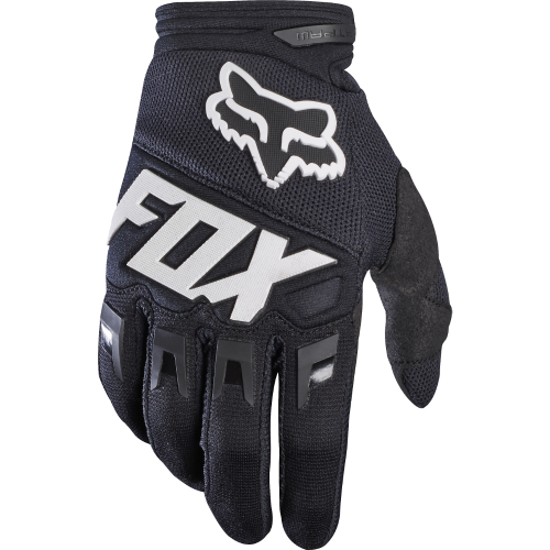 gants de vtt fox dirtpaw race glove black precision ski. Black Bedroom Furniture Sets. Home Design Ideas