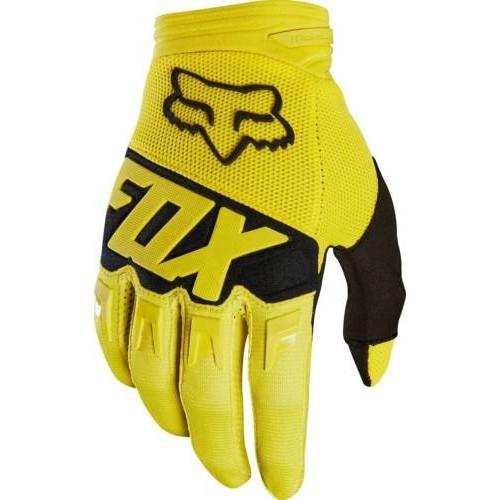 Gants De Vtt Junior Fox Youth Dirtpaw Race Glove Flo Orange