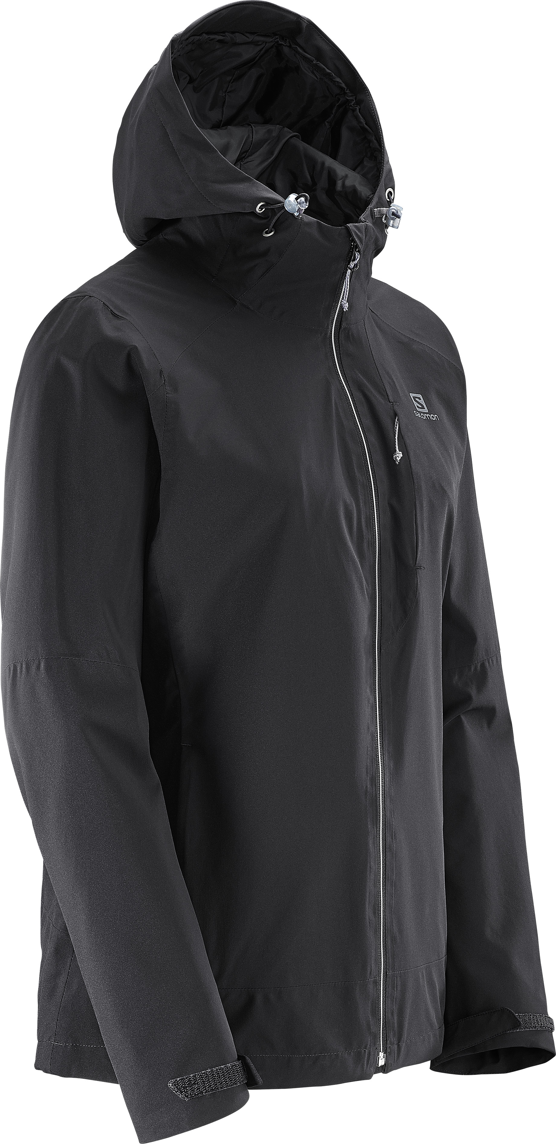 Camping & Outdoor Veste Salomon La Cote 2l Jkt M Black Forged Iron