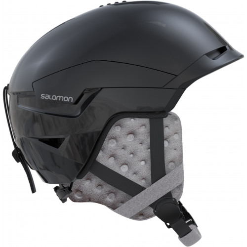 casque de ski salomon quest access w black glossy precision ski. Black Bedroom Furniture Sets. Home Design Ideas