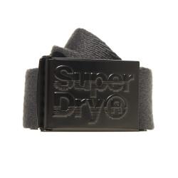 Ceinture Superdry Reversible Belt Grey / Grey Marl