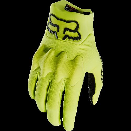 gants de vtt fox attack glove yellow black precision ski. Black Bedroom Furniture Sets. Home Design Ideas