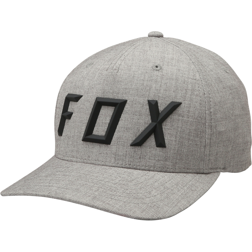 Mütze Fox Sonic Moth Flexfit Cap Hat Heather grau