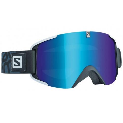 masque de ski salomon xview black solar multilayer. Black Bedroom Furniture Sets. Home Design Ideas