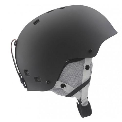 casque de ski salomon jib jr black matt precision ski. Black Bedroom Furniture Sets. Home Design Ideas