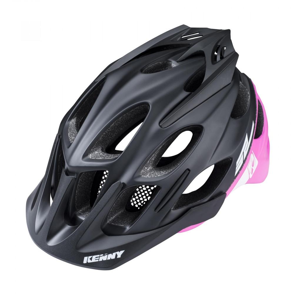 Casque Kenny Enduro Black Pink S2 Vtt 3AjLR54