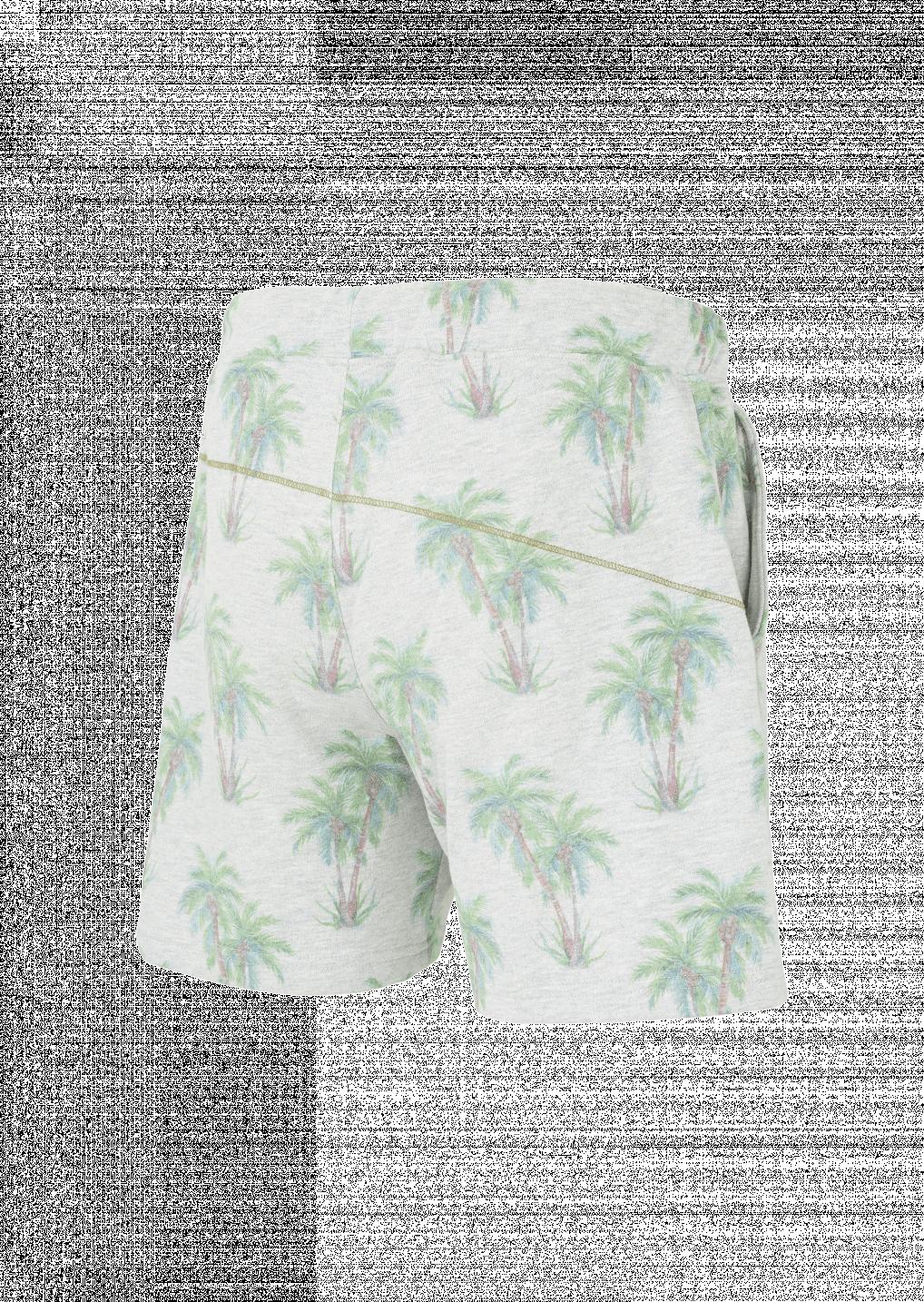 Palmtree Short Organic Picture Lawaki Print UVpzqGSM
