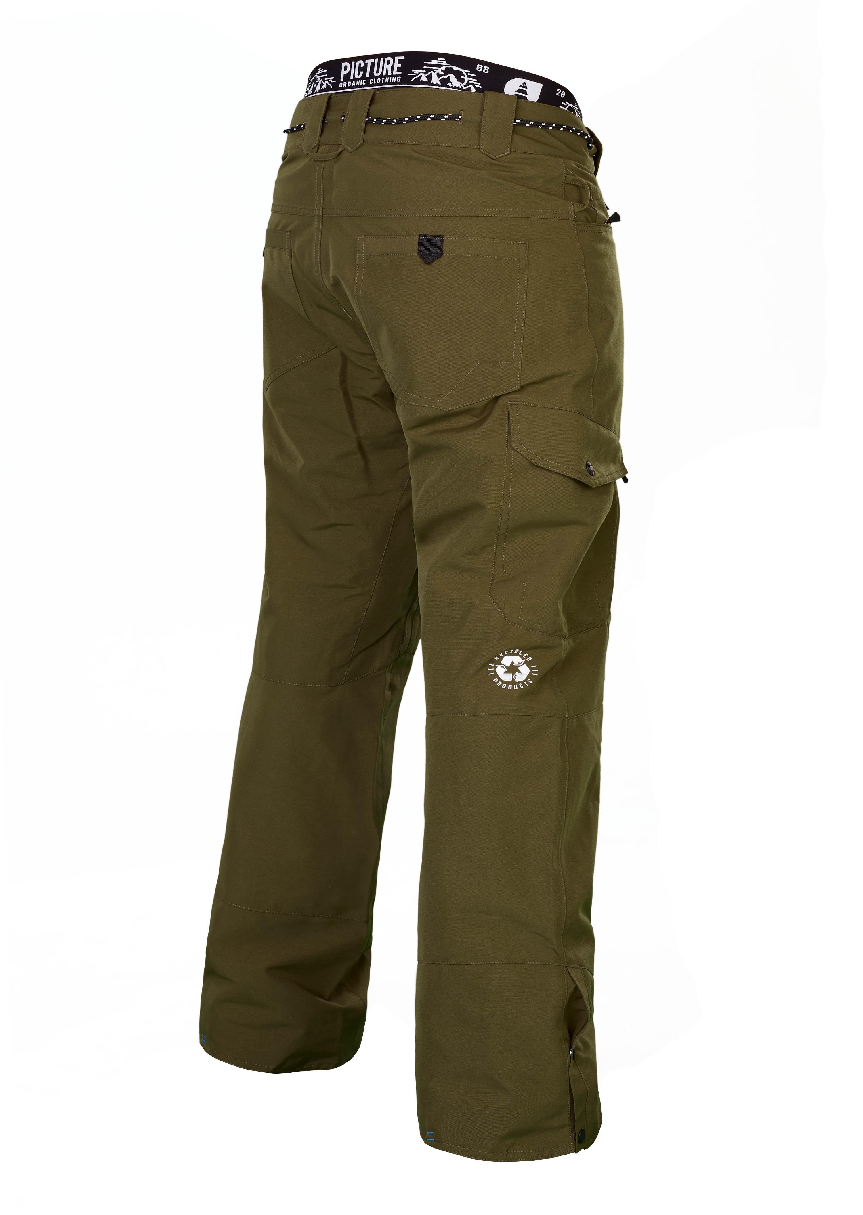 Pantalon De Ski Pant Picture Kaki Under Organic PkZOTuXiw