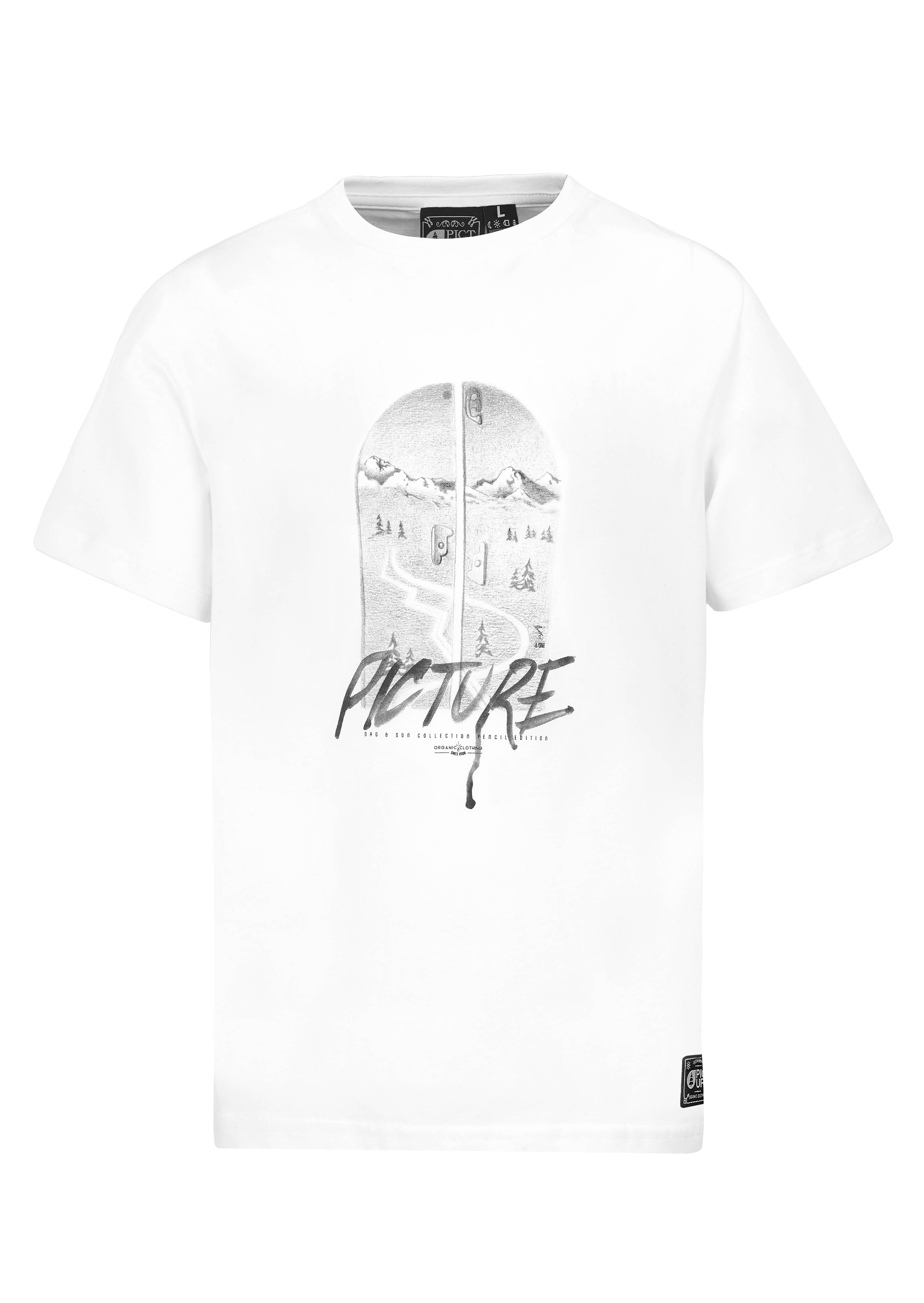T Dadamp; White Organic Son Split Picture Shirt rxBWdeCo