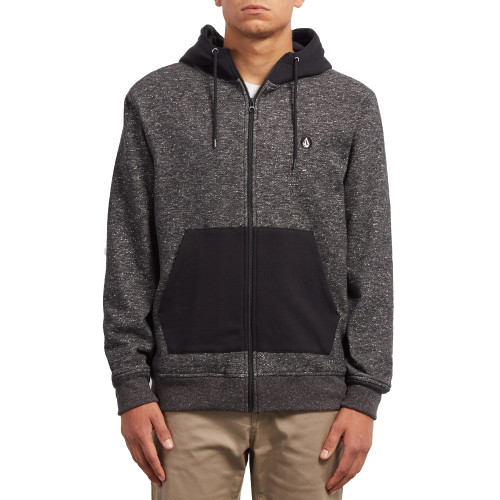 Sweat Volcom Factual Lined Black Front