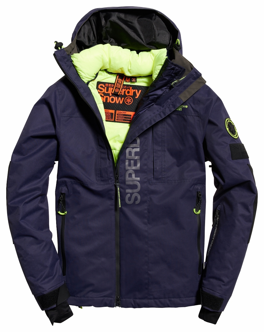 Ski Super Veste Multi Superdry De Sd Scratch Navy MVpLzqGSU