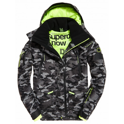 Ski Jacket Superdry Ultimate Snow Rescue Camo