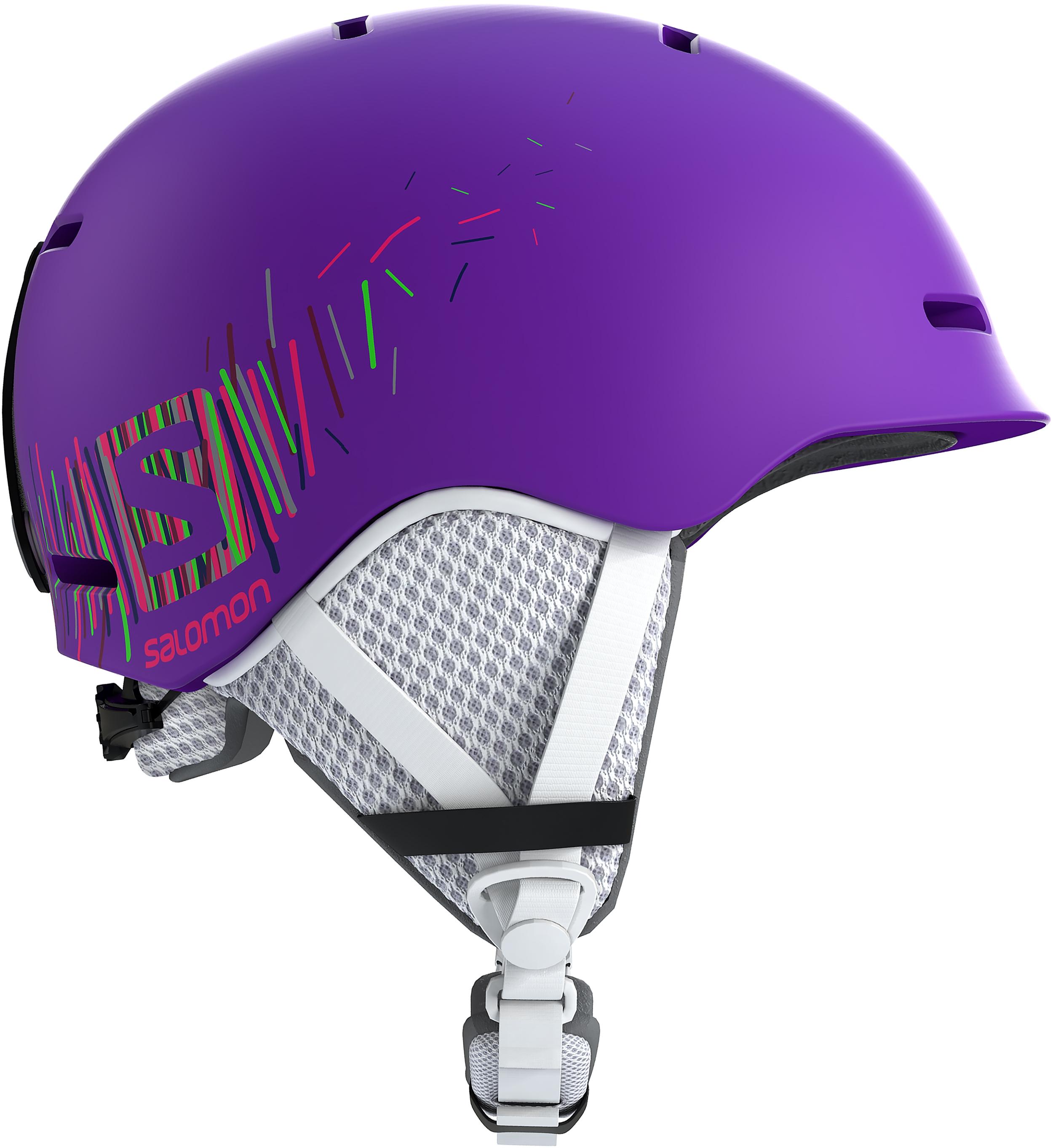 Casque De Ski Salomon Grom Jr Flame