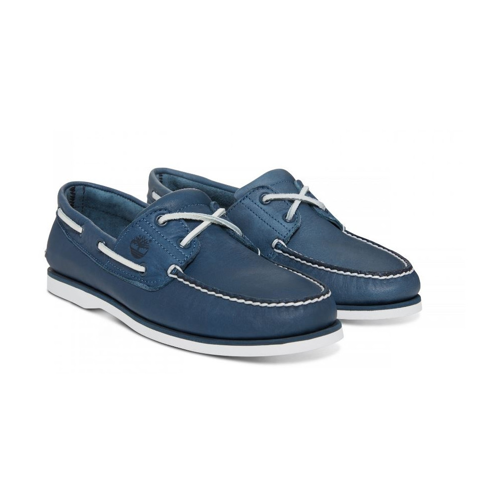 ce710252e4d95 Shoes Timberland Classic Boat 2 Eye Navy