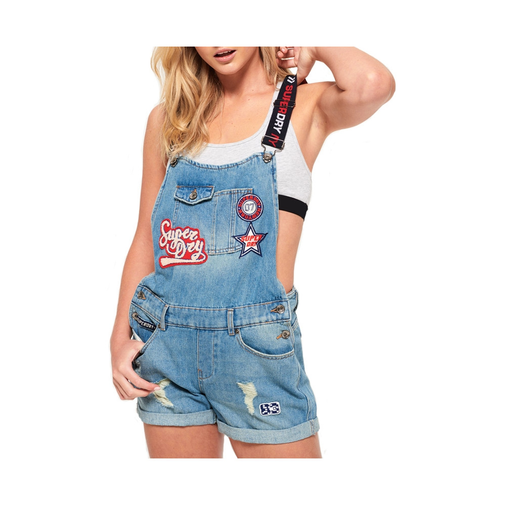 Salopette Dungaree Superdry Salopette Hawaii Blue qzUMVSp