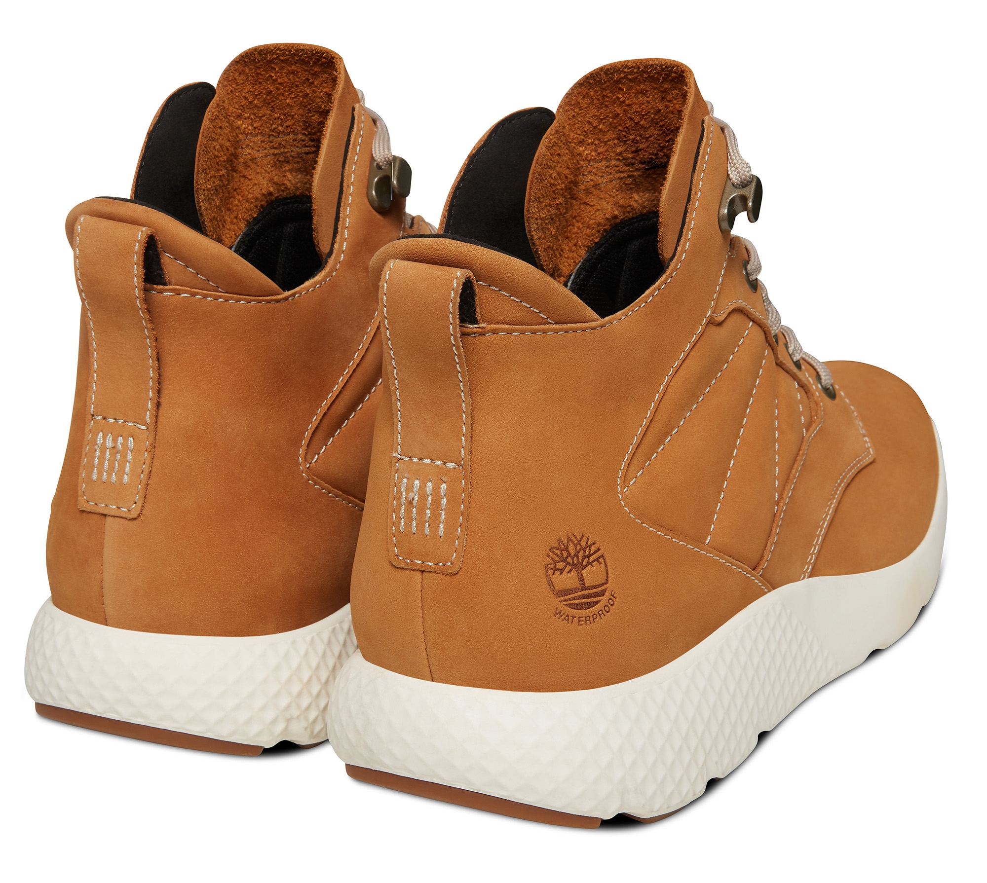 Timberland Wheat Leather Chaussures C Wp Flyroam YE2IWHD9