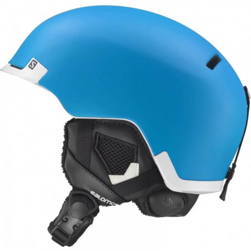 Casque De Ski Salomon Hacker Custom Air Bluematt