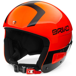 Vulcano 6 Fis de Briko esquí Fluo 8 Jr Casco Orange 3F1JlKTc