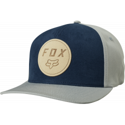 Casquette Fox Resolved Flexfit Hat Grey