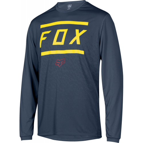 Maillot De Vtt Fox Ranger Ls Jersey Midnight