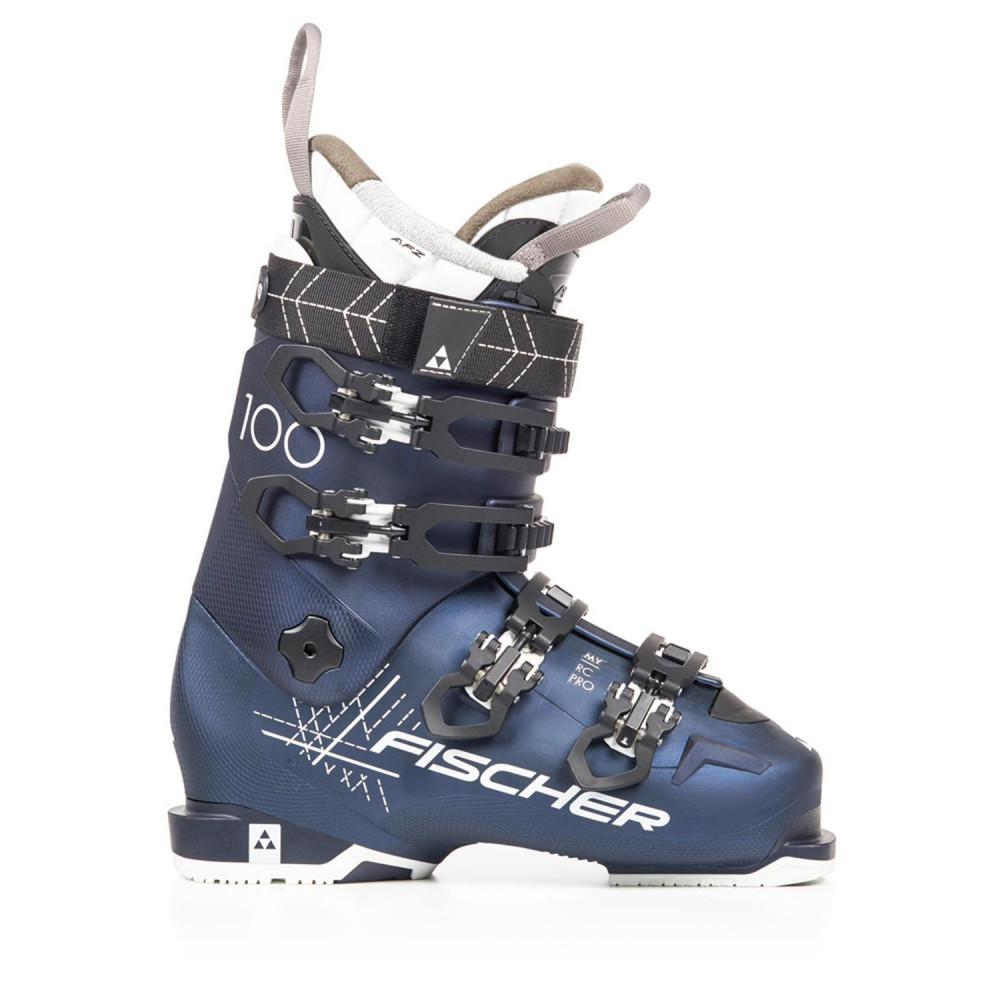 Fischer De Rc Ski 100 Pro Blue Thermoshape Chaussures My EDeWHY29I