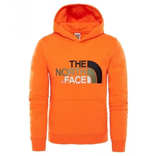 184b5e0b3b Sweat The North Face Y Drew Peak Po Hoodie Orange - PRECISION SKI
