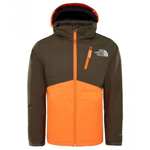 57d5bd4dce Veste De Ski The North Face Y Snowquest Plus Green - PRECISION SKI