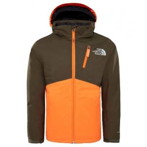 0d7cfa5b2 Ski Jacket The North Face Y Snowquest More Green